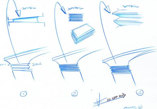 VINTAGEis5 Auto Flow Armlehne - Volker Eysing Industriedesigner